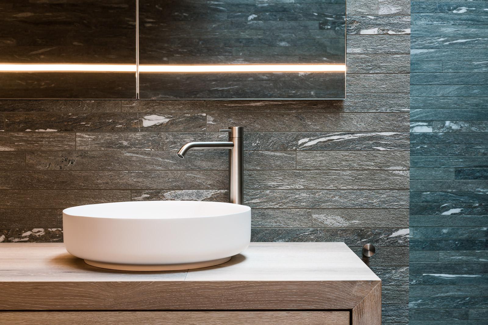 Hochwertige Badezimmer- und Interieur-Architektur - Immobilienfotos