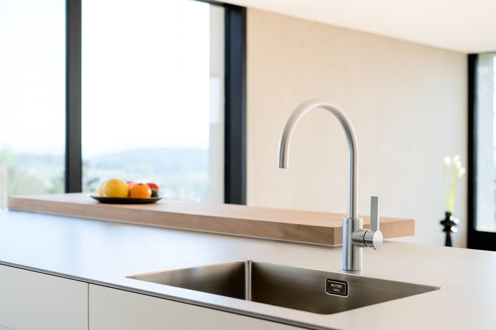 Wasserhahn Fotografie - Küche Detail