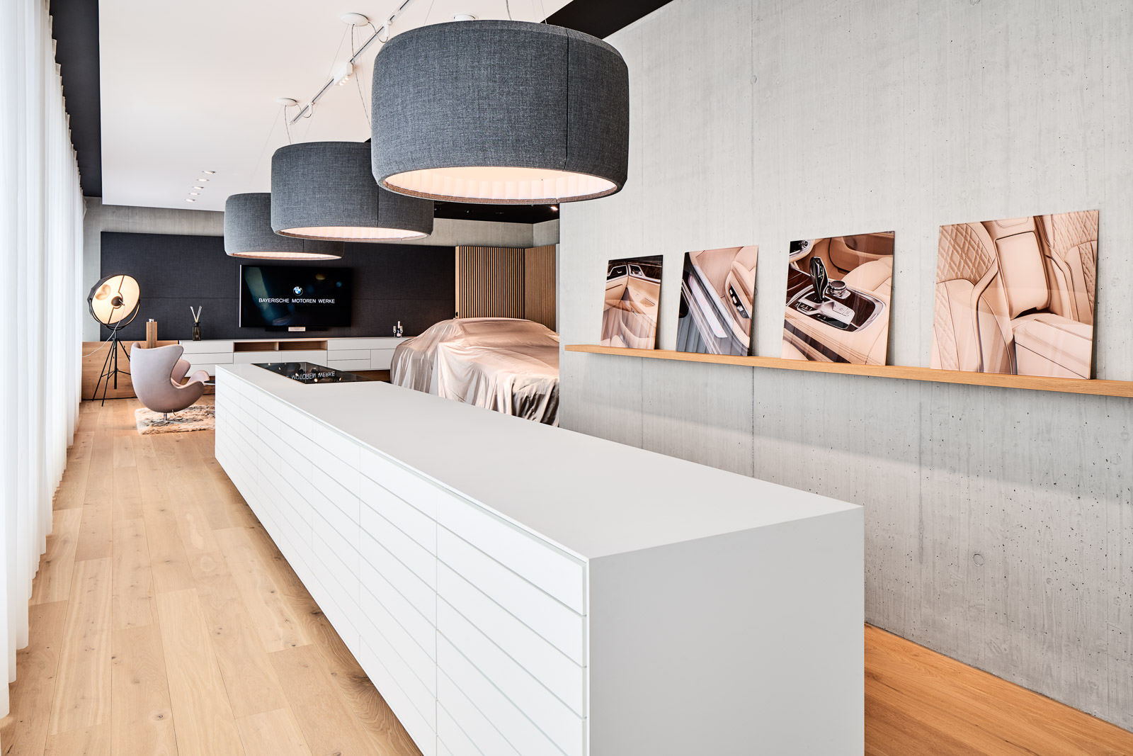 Interior Design - Verkaufsräume Präsentationsflächen Showroom - Fotograf Zürich