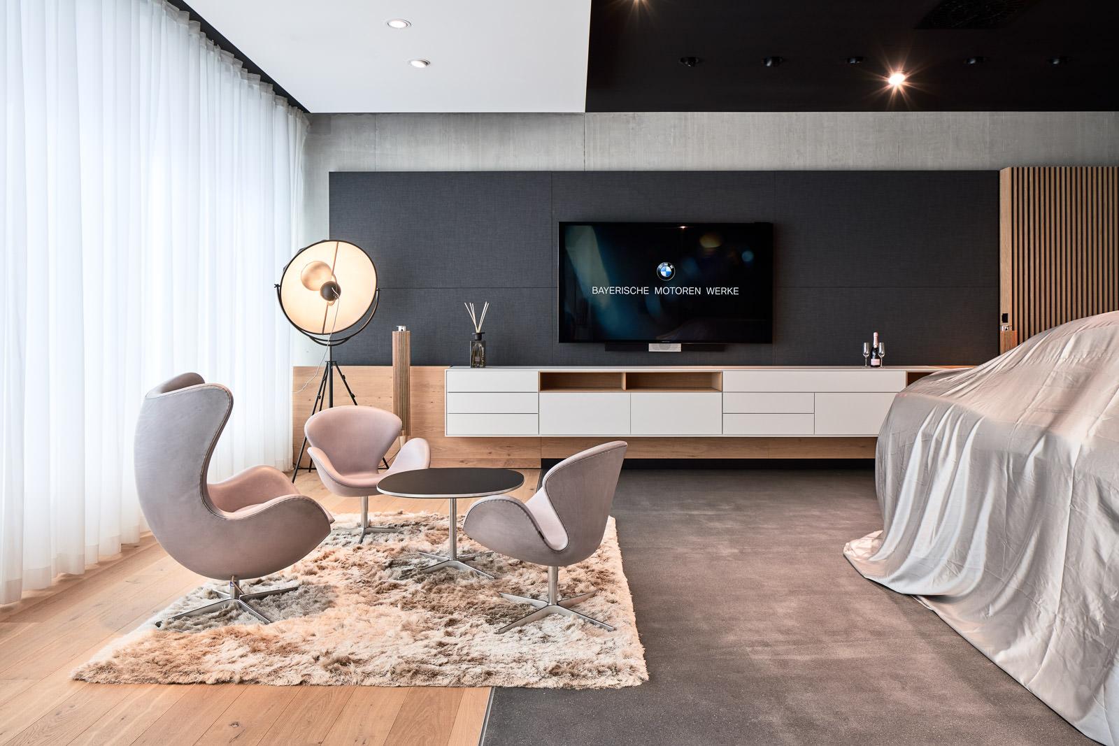 Interior Design Fotografie - Verkaufsräume Showroom Präsentationsräume - Hochwertige Innenarchitektur