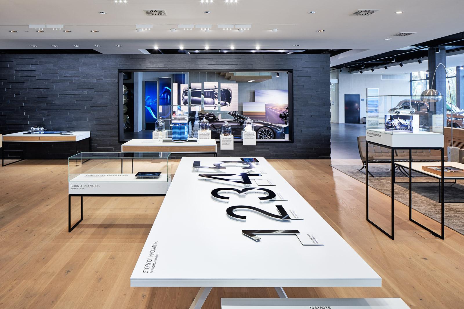 Interior Design Fotografie - Store-Fotografie Verkaufsräume Showroom Präsentationsräume