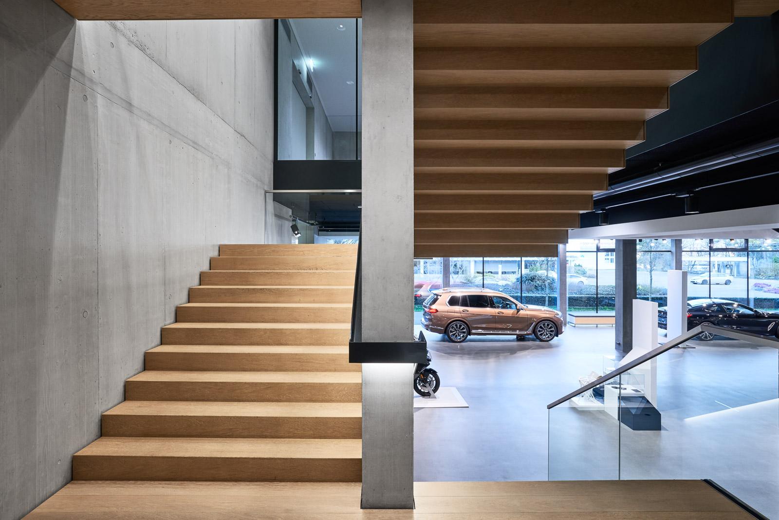 Interior Design Fotografie - Verkaufsräume Showroom Präsentationsräume