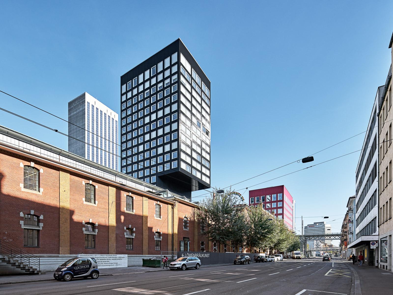Zürich, Löwenbräu-Areal - Architekturfotograf für Firmen und Institutionen